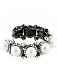 Lanvin | Bracelet Pearly, Shiny Beads | Lyst
