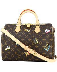 8c9d980f7631 Louis Vuitton - Speedy Bandouliere 30 Monogram Love Lock Handbag Shoulder  Bag  new  -