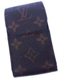 Louis Vuitton - Cigarette Case Monogram Unisexused Y2409 - Lyst