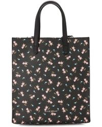 21ddf332c4f3 Lyst - Givenchy Stargate Small Egyptian-Print Leather Tote