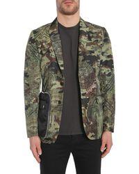 "Givenchy ""camo Dollar"" Print Jacket - Green"
