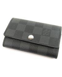 Louis Vuitton - Damier Canvas Key Case N62662 Multicles 6 - Lyst