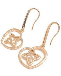 Louis Vuitton | Boucles D'oreilles Coeur Earrings Rose Gold 020270 | Lyst