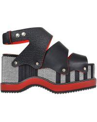 Proenza Schouler Show Platform Shoes - Black