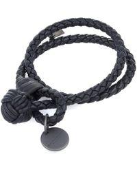 Bottega Veneta - Intrecciato Nappa Double Wrap Bracelet - Lyst