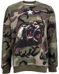 Givenchy - Camo Monkey Brothers Sweatshirt - Lyst