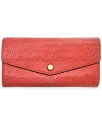 Louis Vuitton - Portefeuille Curieuse Wallet Bi-fold Monogram Empreinte M60302 - Lyst