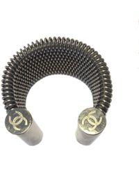 Chanel - Braided Steel Cufflinks - Lyst
