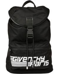 Lyst - Givenchy Obsedia Leather Backpack Black in Black for Men 6948c48de6