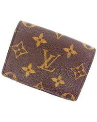 Lyst louis vuitton business card holder monogram unisexused y368 louis vuitton business card holder monogram unisexused y368 lyst colourmoves