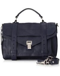 Proenza Schouler - Pre-owned Ps1 Medium Leather Satchel - Lyst