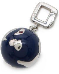 Louis Vuitton   Glove Charm Top Accessories Ruby diamond K18wg Blue Enamel Navy Silver   Lyst