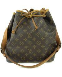 Louis Vuitton - Petit Noe Drawstring Shoulder Bag Monogram Canvas M42226 - Lyst