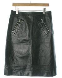 Louis Vuitton   Midi Skirt Black 40   Lyst