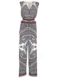 Etro Fantasy Suit - Gray