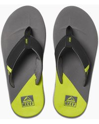 Reef Fanning Low - Gray