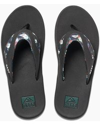 Reef Fanning Prints - Black