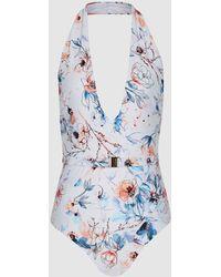 Reiss Estella - Floral Printed Swimsuit - Multicolor