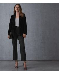 438e3726b Carie Jacket - Corduroy Tailored Blazer - Black