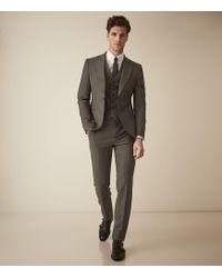 Reiss - Brompton - Single Breasted Wool Suit - Lyst