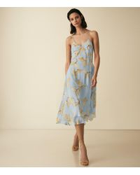 Reiss - Floral Strappy Dress - Lyst