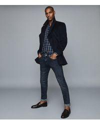 Reiss - Maison - Regular Fit Check Shirt - Lyst