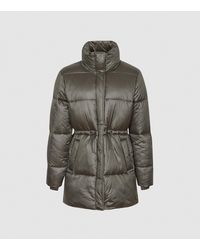 Reiss Lilah - Mid Length Puffer Jacket - Multicolor