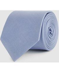 Reiss Aiden - Silk Tie - Blue