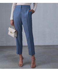 28cb5e1e2 Reiss - Etta Trouser - Slim Leg Trousers - Lyst
