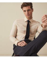 Reiss - Irving - Slim Fit Cotton Shirt - Lyst