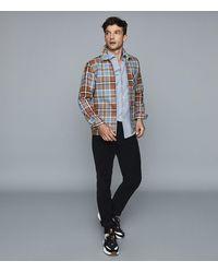 Reiss - Melrosen - Brushed Cotton Twill Shirt - Lyst