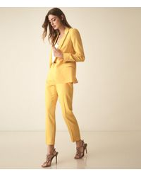 360d432f4 Haya Jacket - Single Breasted Blazer - Yellow