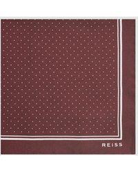 Reiss - Jupiter - Silk Pocket Square - Lyst