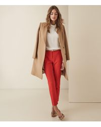 Reiss Joanne - Cropped Tailored Trousers