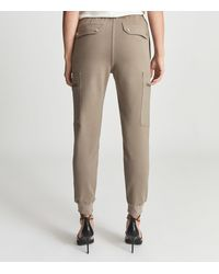 Reiss Tyler - Casual Cuffed Cargo Trousers - Multicolour