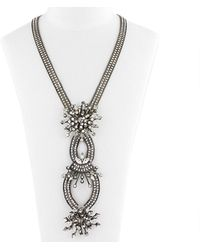 Erickson Beamon Necklace - Metallic
