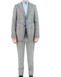 Alexander McQueen Suits - Grey