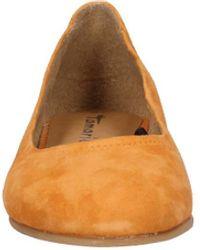 Tamaris Ballerina Leder - Orange