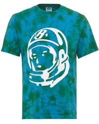 BBCICECREAM - Bleached Effect T-shirt, Astronaut Logo Olive Green Tee - Lyst