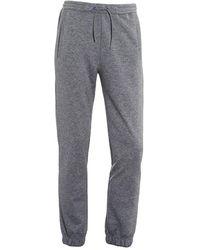 BOSS - Hadiko Trackpants, Cuffed Grey Melange Joggers - Lyst