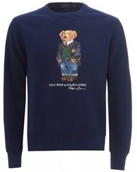 Polo Ralph Lauren Polo University Bear Jumper - Blue