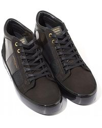 Android Homme Gloss Carbon Trainers, Black/gold Trainers