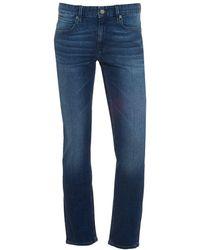 BOSS by Hugo Boss - Orange63 Jeans, Slim Fit Mid Whisker Stretch Denim - Lyst