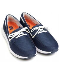 661799adfc2 Lyst - Swims Breeze Leap Knit Penny Slip-on in Gray for Men
