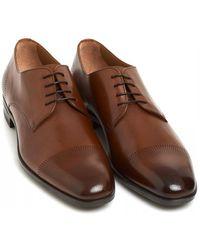 BOSS Kensington Derby Shoes - Brown