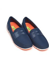 Swims - Breeze Penny Loafer, Navy Blue Shoes - Lyst