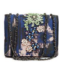 Essentiel Antwerp - Opatsy Mini Bag, Embellished Night Sky Evening Bag - Lyst