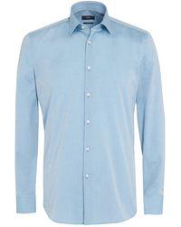 BOSS Black | Jenno Shirt, Aqua Blue Slim Fit Shirt | Lyst