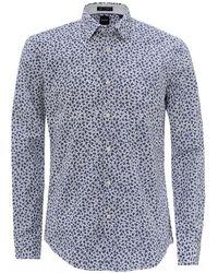 BOSS - Ronni_53f Thomas Mason Floral Print Shirt - Lyst