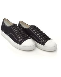 Our Legacy - Gravel Duster Trainers, Canvas Black Sneakers - Lyst